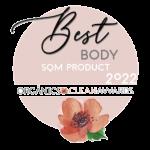 Ganador Organics Clean Awards categoría corporal SQM